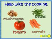English powerpoint: Help With The Cooking