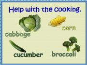 English powerpoint: Help With The Cooking 3/3