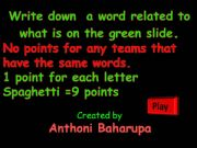 English powerpoint: Categories