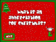 English powerpoint: Christmas time - quiz (4/4)