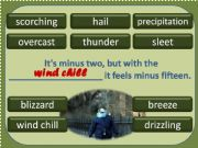 English powerpoint: Weather Words 4/4