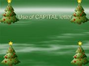 English powerpoint: capital letters