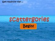 English powerpoint: Scattergories - Timer Included!