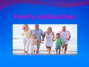 English powerpoint: Family relationships