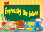 English powerpoint: EXPRESSING FUTURE TIME - Multiple choice game