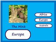 English powerpoint: Endangered Animals Map Game 3