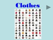 English powerpoint: Clothers