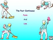 English powerpoint: Past Continuous