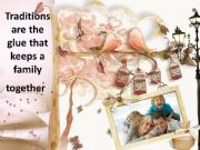 English powerpoint: 10 family traditions