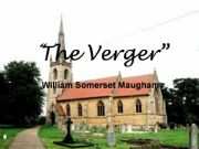the verger by maugham Essays - largest database of quality sample essays and research papers on the  verger by maugham.