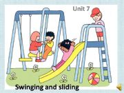English powerpoint: Playground Actions
