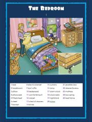 English powerpoint: The bedroom