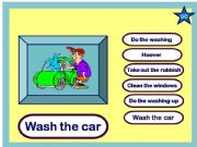 English powerpoint: The Household Chores