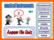 English powerpoint: Musical instruments