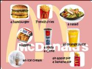English powerpoint: Ordering Food at Mc Donald´s
