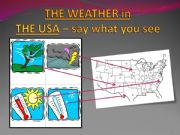 English powerpoint: say the weather
