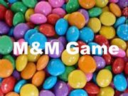 English powerpoint: M&Ms Game