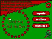 English powerpoint: Pass the word - Christmas (4/6)
