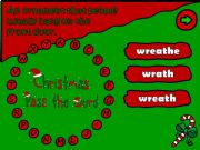 English powerpoint: Pass the word - Christmas (6/6)
