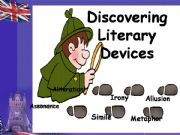 English powerpoint: Literary devices Part 1