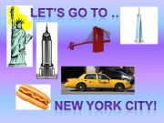 English powerpoint: Let´s go to NYC part 1