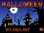 English powerpoint: Halloween - vocabulary *with sounds* (1/2)