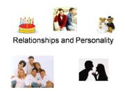 English powerpoint: Relationships and personality