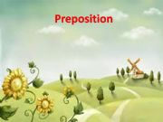 English powerpoint: preposition
