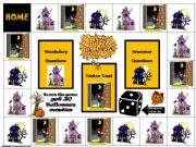 English powerpoint: Halloween interactive game