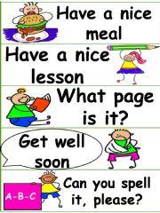 English powerpoint: Classroom Language