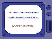 English powerpoint: NO NEED TO PANIC