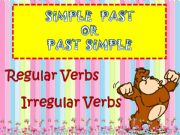 English powerpoint: PAST SIMPLE EXPLANATION