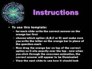 English powerpoint: Who Wants to Be A Millionaire Verb Tense Review