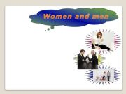 English powerpoint: compare and contrast writing6 (men&women)