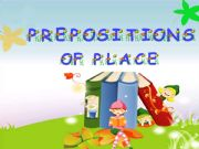 English powerpoint: My Bedroom - Prepositions of place