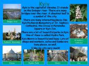 English powerpoint: Kyiv - the capital of Ukraine