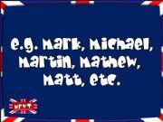 English powerpoint: The English Alphabet - quiz (4/6)