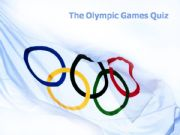 English powerpoint: The Olympic Games Quiz (with answers)