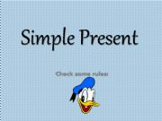 English powerpoint: SIMPLE PRESENT TENSE and ADVERBS OF FREQUENCY