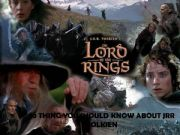 English powerpoint: 10 Thing you shoul know about Tolkien
