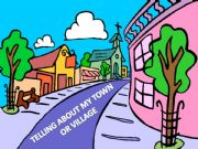 English powerpoint: Telling about my town or village