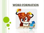 English powerpoint: WORD FORMATION