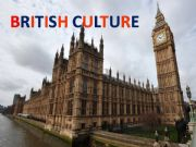 English powerpoint: British monuments, food and popular  festivals