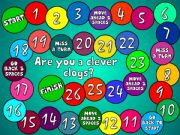 English powerpoint: Are you a clever clogs? - boardgame
