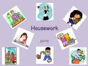 English powerpoint: Housework - game