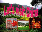 English powerpoint: let´s visit China