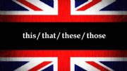 English powerpoint: This, that, these, those