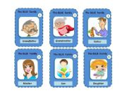 English powerpoint: FAMILY MEMBERS - HAPPY FAMILY GAME