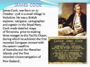 English powerpoint: James Cook