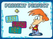 English powerpoint: PRESENT PERFECT + JUST-ALREADY-YET